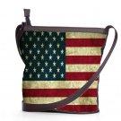 New American Flag Shoulder Handbags Best Anti Theft Sling Bags Ladies Women's Teen Retro