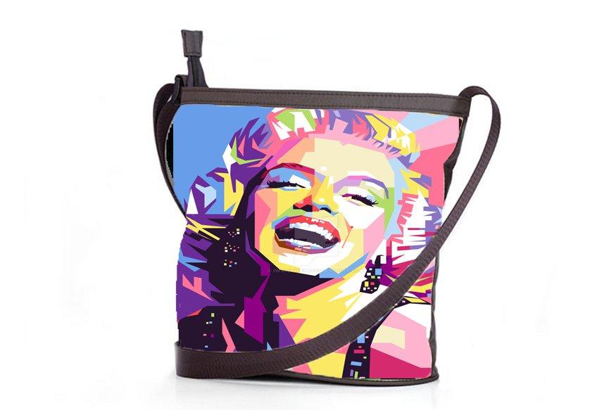 Art Marilyn Monroe Shoulder Handbags Best Anti Theft Sling Bags Ladies Women's Teen Retro