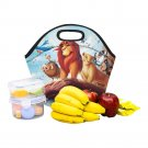 Lion King Neoprene Lunch Bag Waterproof Insulated Lunch Bag Tote for Kids, Women, Men