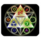 Triforce The Legend of Zelda Best mousepad For Gaming game gamer anti slip PC Laptop mouse pad