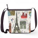 Tower Eiffel Paris France Shoulder Handbags Sling Bags Ladies Women's Teen Unique Shaped Handbags
