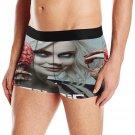 iZombie Men's Print Mesh Trunks Boxer Brief Elastic Low Waist Lingerie Underwear