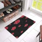 """Akatsuki Cloud Naruto Doormat 24""""x16"""" Non Slip Mat Rugs Carpets Door Mats Floor Mats"""