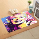 "Marilyn Monroe Colour Doormat 24""x16"" Non Slip Mat Rugs Carpets Door Mats Floor Mats"