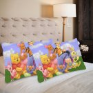 Winnie the Pooh Set 2 Items Pillow Case 20 x 30 One Side Printed Pillow case quality fabric cushion