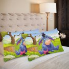 Eeyore Set 2 Items Pillow Case 20 x 30 ONE Side Printed Pillow case Home cushion quality fabric