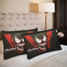 VENOM Set 2 Items Pillow Case 20 x 30 One-Side Printed Pillow case Home cushion quality fabric