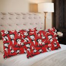 Betty Boop Set 2 Pillow Case 20 x 30 One-Side Printed Best Pillow Quality Fabric