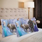 Frozen 2 Pillow Case Set 2 Pillow Case 20 x 30 One-Side Printed Best Pillow Quality Fabric