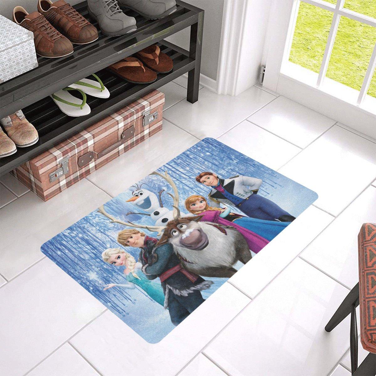 """Frozen 2 Doormat 24""""x16"""" Non Slip Mat Rugs Carpets Door Mats Floor Mats"""