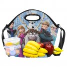 Frozen II Fun Cool Neoprene Lunch Bag Large Waterproof Insulated Lunch Bag Kids, Women, Men