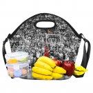 Michael Jordan Chicago Bull Neoprene Lunch Bag Waterproof Lunch Bag Kids, Women, Men