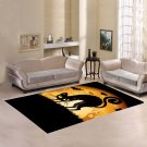 Cat Witch Area Rug Carpet Living Room 5'x3'3'' Home Kichent Coffe's Popular Area Rugs