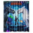 "How To Train Your Dragon Waterproof Bathroom fabric most popular Shower Curtain 60""x 72"""