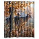"Beauty Deers Waterproof Bathroom fabric most popular Shower Curtain 60""x 72"""