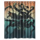 "Giant Octopus Shower Curtain Waterproof Bathroom fabric most popular Shower Curtain 60""x 72"""