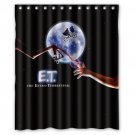 "E.T The Extra Terrestrial Movie Waterproof Bathroom fabric most popular Shower Curtain 60""x 72"""