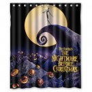 "The Nightmare Before Christmas Waterproof Bathroom fabric most popular Shower Curtain 60""x 72"""