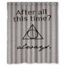 "Harry Potter Quates Shower Curtain Waterproof Bathroom fabric most popular Shower Curtain 60""x 72"""