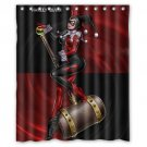 "Harley Queen And Hammer Waterproof Bathroom fabric most popular Shower Curtain 60""x 72"""