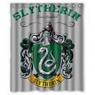 "Slytherin Harry Potter Waterproof Bathroom fabric most popular Shower Curtain 60""x 72"""