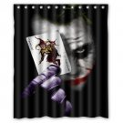 "Joker And Card Shower Curtain Waterproof Bathroom fabric most popular Shower Curtain 60""x 72"""