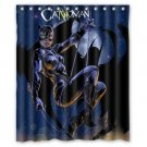 "Cat Woman Shower Curtain Waterproof Bathroom fabric most popular Shower Curtain 60""x 72"""