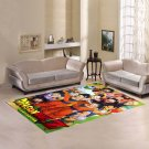 Dragon Ball Z Area Rug Carpet Living Room 5'x3'3'' Home Kichent Coffe's Most Popular Area Rugs