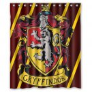 "Gryffindor Harry Potter Waterproof Bathroom fabric most popular Shower Curtain 60""x 72"""