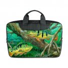 Bass Fish Fishing Bag for Laptop (Twin Sides) Shoulder Bag Waterproof Case 15 inch Laptop Covers