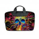 "Skull ColourFull Laptop Bag for Macbook Air 11"" (Twin sides) Shoulder Bag Waterproof Case Covers"