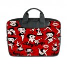 "New Betty Boop Laptop Bag for Macbook Air 15"" (Twin sides) Shoulder Bag Waterproof Case Covers"