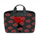 "New Akatsuki Naruto Shippuden Laptop Bag Macbook Air 15"" (Twin sides) Shoulder Bag Waterproof Covers"