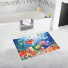 "The Little Mermaid Hight Quality Non Slip Bathroom Bathmats Toilet 20"" x 32"" Favorite Bath Rug Mats"