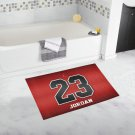 "High Quality Non Slip Michael Jordan Bathroom Bathmats Toilet 20"" x 32"" Favorite Bath Rug Mats"