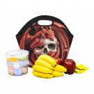 Dragon And Skul Food Bag Neoprene Lunch Bag Lunch Box Reusable Tote Bags  Insulated Lunch Bag