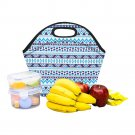 Aztec Pattern Food Bag Neoprene Lunch Bag Lunch Box Reusable Tote Bags  Insulated Lunch Bag