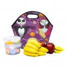 Jack And Sally Nightmare Before Christmas Food Bag Neoprene Lunch Bag Lunch Box Reusable Tote Bags