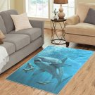Shark Walrus Sea Area Rug Carpet Living Room 5'x3'3'' Home Kichent Coffe's Most Popular Area Rugs