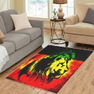 Lion Rasta Reggea Area Rug Carpet Living Room 5'x3'3'' Home Kichent Coffe's Most Popular Area Rugs