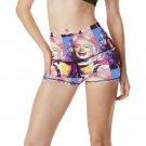 Retro Marilyn Monroe Womens Yoga Shorts Pants Gym Active Running Fitness Most Popular Yoga Pants