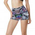 Joker Batman Womens Yoga Shorts Pants Gym Active Running Fitness Most Popular Yoga Pants Ladies