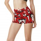 Betty Boop Love Womens Yoga Shorts Pants Gym Active Running Fitness Most Popular Yoga Pants Ladies