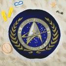 Star Trek Round Beach Shawl Most Popular Towel Swimwear Blanket Cover-Up Beach Yoga Mat Scarf Wrap