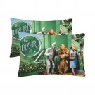 Wizard Of OZ Set 2 Pillow Case 20 x 30 Set 2 One-Side Printed Best Pillow Quality Fabric