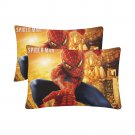 Spiderman Set 2 Pillow Case 20 x 30 Set 2 One-Side Printed Best Pillow Quality Fabric