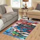 Justice League Area Rug Carpet Living Room 5'x3'3'' Home Kichent Coffe's Most Popular Rugs