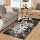 Black Cheetah Area Rug Carpet Living Room 5'x3'3'' Home Kichent Coffe's Most Popular Rugs