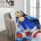 "Sonic the Hedgehog Blanket 60"" X 80"" Ultra-Soft Micro Fleece Hight Quality Blankets Best Choice"