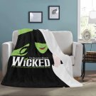 "Wicked The Broadway Blanket 60"" X 80"" Ultra-Soft Micro Fleece Hight Quality Blankets Best Choice"